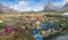 Ponyville by Tridgeon.deviantart.com on @deviantART