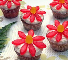 Garden Fairy Cupcakes