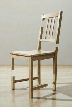 hard to believe that this chair is still functional. difficile de croire que cette chaise est toujours fonctionnelle: Unusual Furniture, Funky Furniture, Design Furniture, Chair Design, Wood Furniture, Inexpensive Furniture, Theme Design, Poltrona Design, Muebles Art Deco