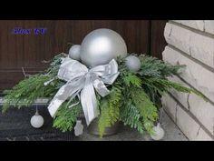 Weihnachtsdeko Idee für Hauseingang zum selbst machen . - YouTube Christmas Wreaths, Holiday Decor, Crafts, Youtube, Art Floral, Design, Home Decor, Decoration, Vintage Wooden Crates