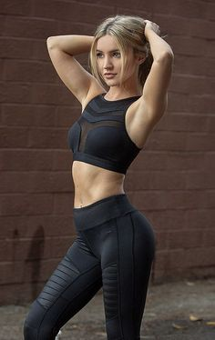 Nero Sports Bra - Black FitnessApparelExp... ♡