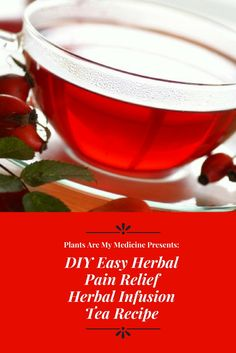 This herbal pain relief infusion tea recipe will help you live naturally. HERBAL PAIN RELIEF INFUSION RECIPE: 1/2 an inch of ginger, peeled and sliced tsp ofpowdered organic turmeric 1/2 tsp ofro…