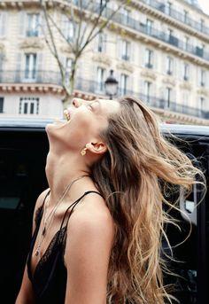 I Love Paris: Daria Werbowy by Juergen Teller for Pop Magazine Spring Summer 2016