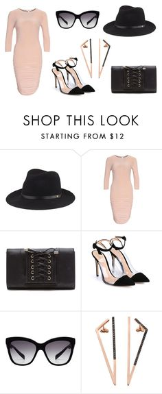 """""""Milan outfit inspo #1"""" by cutelooking-nl on Polyvore featuring mode, rag & bone, Gianvito Rossi, Dolce&Gabbana en MyriamSOS"""