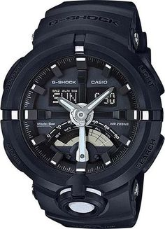 Casio Mens G-Shock Urban Sports Series Watch (Model No. GA-500-1A) #gshock