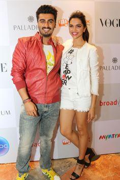 Deepika Padukone with Arjun Kapoor