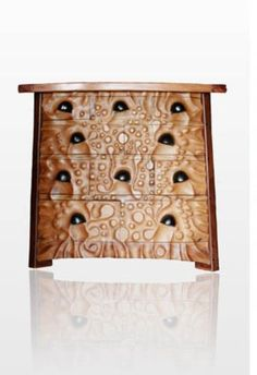 "Chest of Drawers ""Kaha-binet"".  This guys work is amazing!"