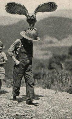 Chapéu de palha.