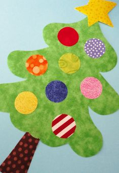 Fabric Applique TEMPLATE Pattern Only CHRISTMAS Tree by etsykim, $2.00