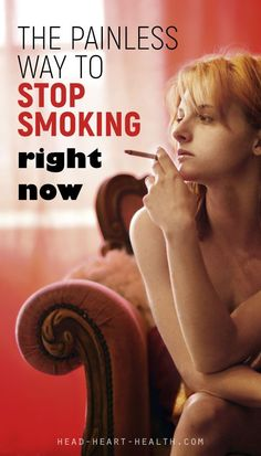 I smoked for 30 years. I tried to stop smoking many, many times but it never worked. Until now. This is how I finally quit poisoning myself with cigarettes without going crazy in the process. The painless way to stop smoking right now.