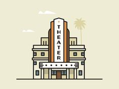 Vintage Theater by Jesus