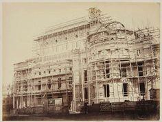 Building of the Opéra Garnier, Paris, France, 1861