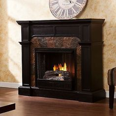 Real Flame Ashley Gel Fuel Fireplace In White Finish Read More - Ashley gel fireplace fuel
