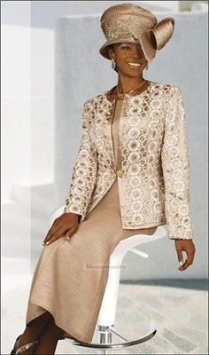 Women Fine Church Hats | Elegant Women Church Suits | Women's Fine High Fashion Designer ...