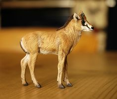 Sable Calf 1:22 scale - made by Harriet Knibbs Sculptures Ltd