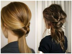 Inside-Out-Ponytail-Best-Hairstyles-for-Work