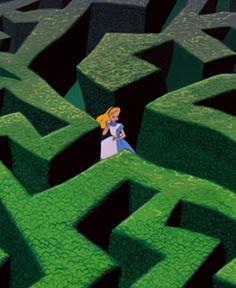 Alice in Wonderland Arte Disney, Disney Magic, Disney Art, Disney Pixar, Disney Characters, Alice In Wonderland 1951, Adventures In Wonderland, Cartoon Wallpaper, Disney Wallpaper