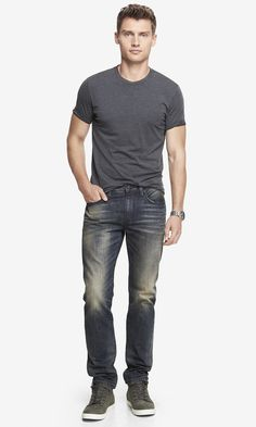 The super casual Rocco Skinny is perfect for the weekend. #expressjeans