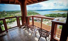 Vintage Villas Hotel Overlooking Lake Travis In Austin Tx Travel