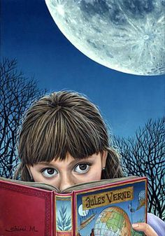 Moon Story by Shiori Matsumoto, 1973, Japanese.