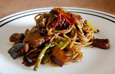 How to Turn 4 Ingredients Into a Balsamic Eggplant Stir-Fry