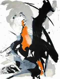 Jean Miotte art - Abstract Composition III
