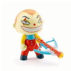 Figurine Arty Toys Les super héros : Rictus Djeco - Magasin de Jouets pour Enfants