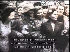 ▶ The Baltic Tragedy - Nazi and Soviet occupation in Estonia, Latvia and Lithuania (A YouTube video.  Very good. Made with historic film footage.)