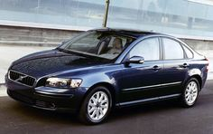 The car I would like to own one day, if I am lucky. The Volvo S40.