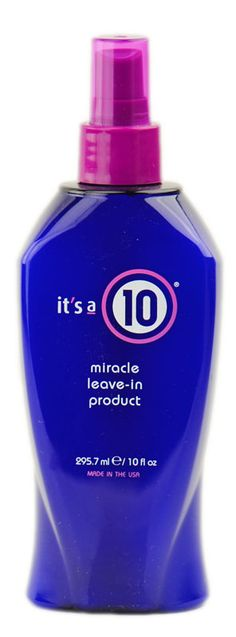 It's a 10 Ten - Miracle Leave In Product recommended by Lucky Magazine for dry ends.