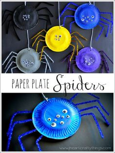 15 Easy Halloween Crafts for Kids - GleamItUp