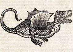 Topsell's The History of Four-Footed Beasts and Serpents Woodcuts by D Services, via Flickr