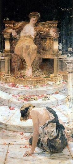 Psiqué y el trono de Venus - Edward Matthew Hale