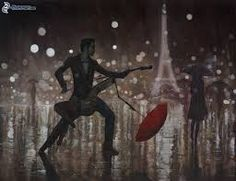 Resultado de imagen para imagenes de personas bailando bajo la lluvia