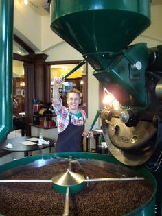 Andy Clawson, Caffe Appassionato, Co-Roaster