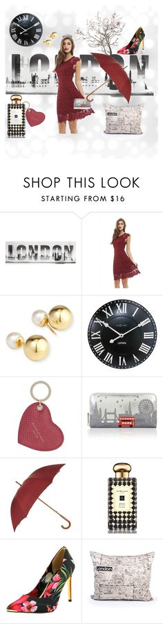 """""""london calling"""" by digitaldraft ❤ liked on Polyvore featuring AX Paris, Yoko London, NeXtime, Aspinal of London, Accessorize, London Undercover, Jo Malone, Ted Baker, vintage and dress"""
