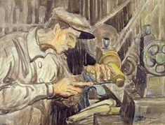 The Factory, Moshe Rynecki