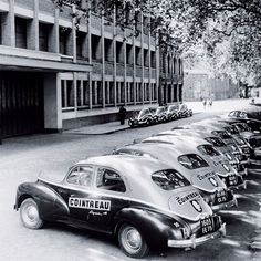 When a fleet of vintage cars were about to make the dream of home delivery a reality, 1949 Old Vintage Cars, Old Cars, French Vintage, Auto Peugeot, Automobile, Cars And Motorcycles, Dream Cars, Classic Cars, France