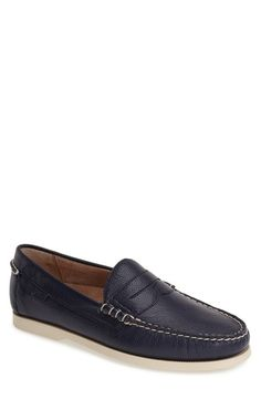 Polo Ralph Lauren 'Bjorn' Leather Penny Loafer (Men) available at #Nordstrom