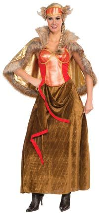 Womens Viking Queen Costume - Viking Costumes