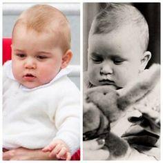 George and Prince Charles
