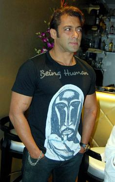 in special edition Being Human Clothing T-Shirt Being Human Clothing, Salman Khan Photo, Movie Teaser, Desi, Bollywood, Handsome, Menswear, Big Big, Celebrities