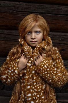 Kids Editorials by Karolina Henke - Deer coat