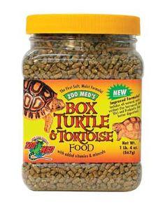 Box Turtle And Tortoise Dry Food 10oz (jar)