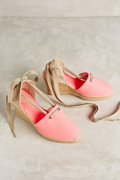 Penelope Chilvers Espadrille Wedges #anthrofave