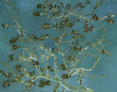 Sale 10 - 25% OFF Use promo code RYCUBL Good on all Prints See details...,vincent van gogh,bridburg,almond blossoms in turquoise,branches against a turquoise sky,turquoise,bluish-green sky,bluish green skies,under the branches,almond blossoms in the spring,springtime blossoms,blossoming tree,blossoming tree in the spring,blossoms blowing in the breeze,blossoms blowing in the wind,blowing in the wind,a gentle breeze through the trees,a gentle breeze through the branches,gift,christmas