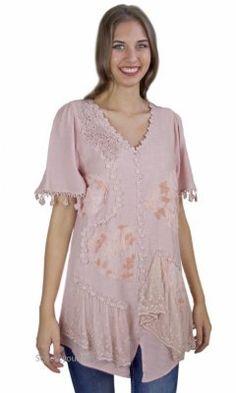 Aliza Vintage Victorian Shirt Dress In Mauve My Pretty Angel Top