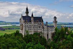 Neuschwanstein Castle by Jacky Au on 500px