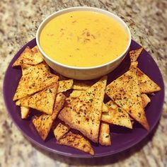 queso + Fathead chips : ketorecipes
