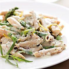 Creamy Asparagus Pasta - EatingWell.com